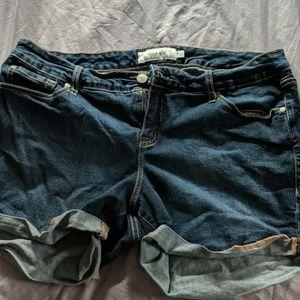 Basic Jean shorts